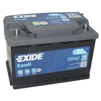 EXIDE Excell 74 Ah
